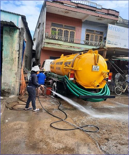 Hút hầm cầu quận Bình Tân